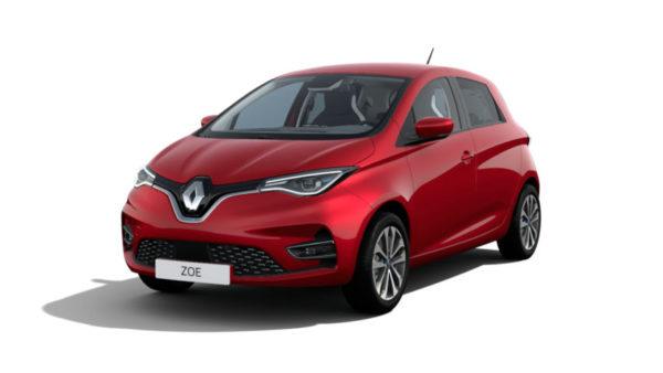 Alquilar Renault Zoe en Navarra